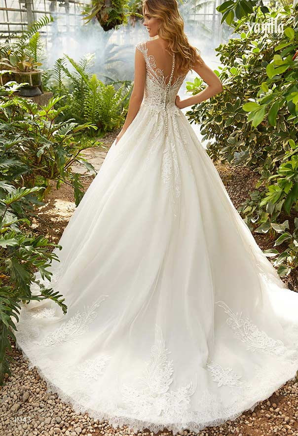 5a2165e71bbc Vanilla Sposa - MAGIC GARDEN